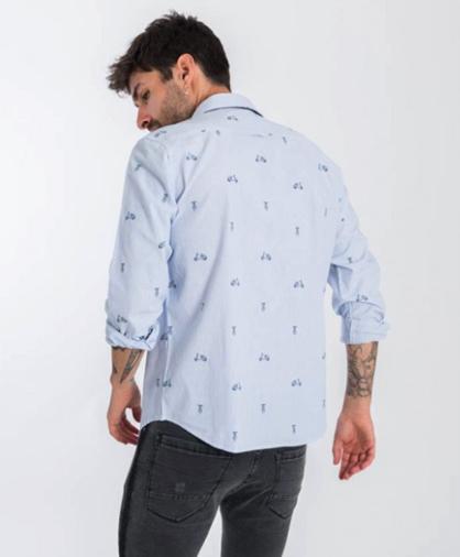 camisa vespas