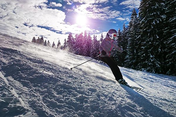 día de esqui san valentin